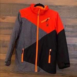 Boys Spyder Ski Jacket. Size 18.